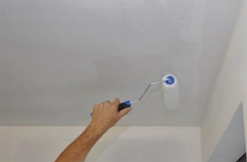 Покрытие водоэмульсионной краской