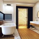 размер двери в ванной