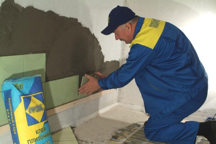 Как подготовить поверхность для укладки плитки