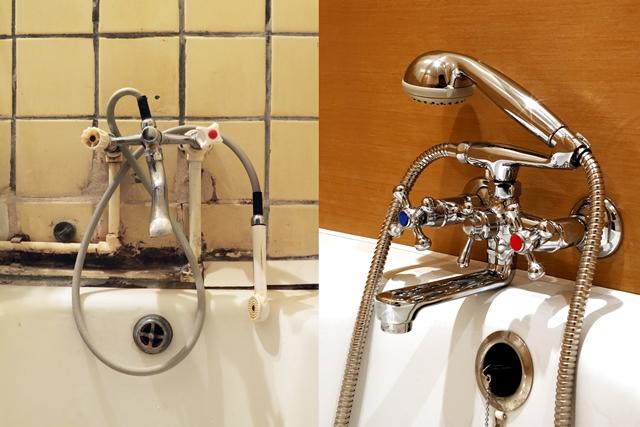 Смесители в ванной установка своими руками