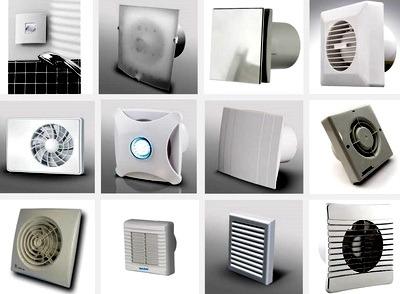 разнообразие вентиляторов