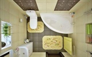 10 идей для ванны или совмещенного санузла маленькой площади