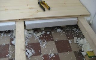 Утепление бетонного пола