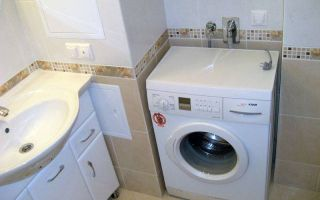 Установка стиральной машины в ванной: особенности выполнения работ своими руками