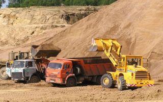 Виды песка и их применение