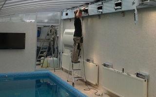 Система вентиляции бассейнов