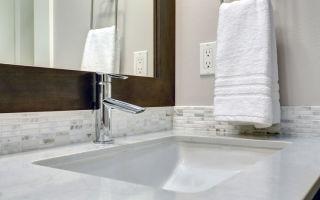 Что такое раковина в ванной комнате с собственной оправой?