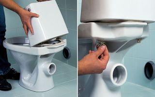 Чтобы туалет не протекал необходимо правильно установить унитаз