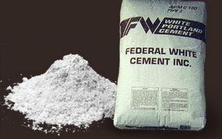 Белый цемент: характеристики, применение