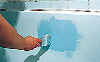 Как самостоятельно покрасить ванну?