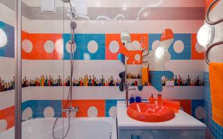 Дизайн детской ванной комнаты, который может Вас вдохновить (видео)