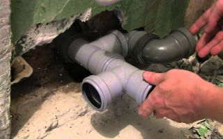 Монтаж пластиковой канализации