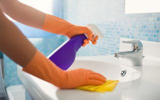 Соблюдаем чистоту в ванной комнате