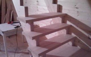 Как сделать ступени для лестниц из дерева своими руками