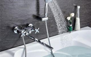 Смесители для ванной в современном интерьере