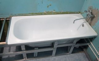Установка ванны, наращивание ванны полкой и монтаж экрана под ванну. Ремонт в ванной своими руками — ВИДЕО