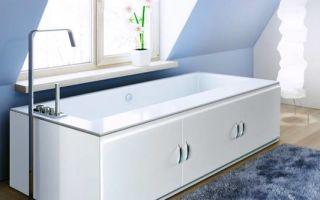 Как установить экран для ванной — пошаговая инструкция по установке для акриловых ванн