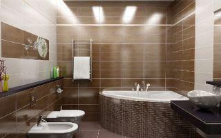 Какое освещение сделать в ванной комнате