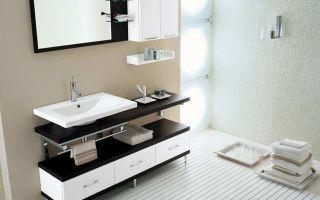 Как выбрать шкафчики для ванной