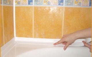 Как правильно выбрать и приклеить бордюр в ванной комнате