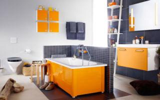 Экран для ванной из плитки — инструкция по реализации проекта своими руками