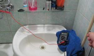 Как самостоятельно заземлить ванную комнату