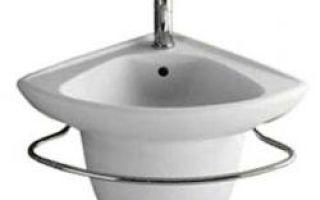 Угловые раковины для ванных