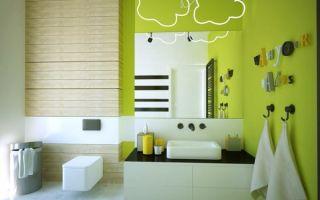 Желтая ванная для смелых хозяев