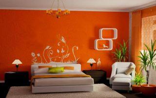 Декорирование стен: в спальне, гостиной, кухне