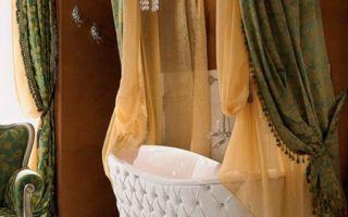 Стиль рококо в ванной комнате