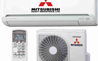Виды японских кондиционеров Mitsubishi