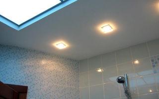 Какой потолок в ванной комнате будет лучше