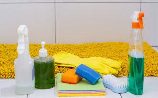 Контрольный список по уборке ванной комнаты