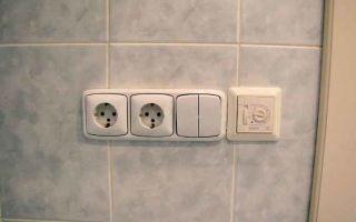 Правила монтажа электропроводки в ванной