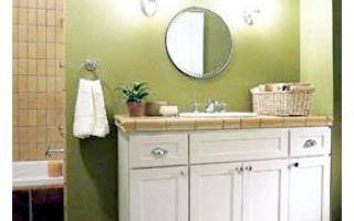 Организация освещения в большой ванной комнате