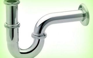 Как собрать сифон для ванны