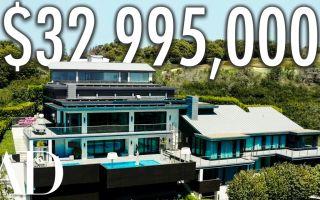 Особняк стоимостью 33 миллиона долларов со скрытой подземной дискотекой и 10 ванными комнатами.