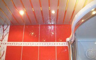 Как сделать быстро потолок в в ванной комнате — видео