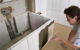 Как и из чего можно сделать ванну