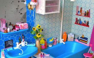 Как сделать ванную комнату безопасной для ребенка