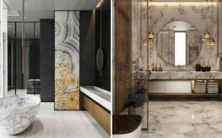 Идеи модульного дизайна современной ванной комнаты 2021