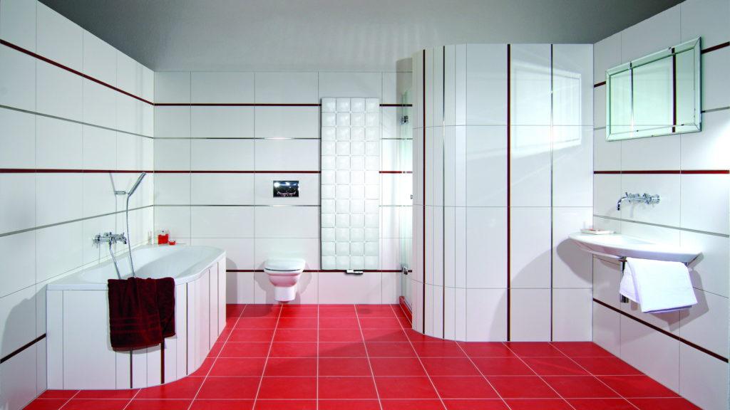 Подбираем плитку для ванной комнаты
