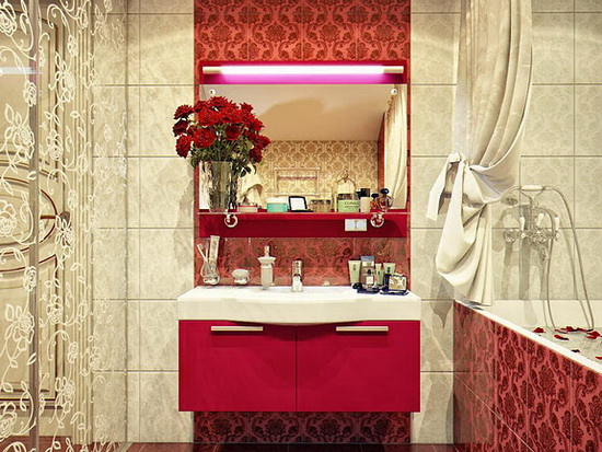 Стильный ремонт в ванной комнате