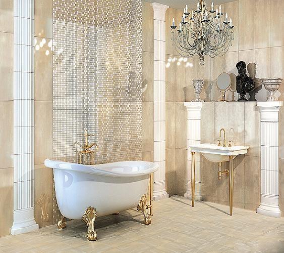 Фотографии плитки для ванной комнаты (68)