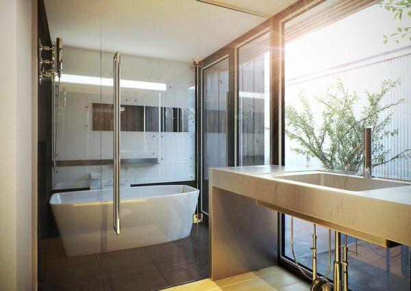 ванна в японском стиле