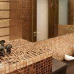коричневая ванна