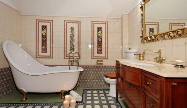 ванна в английском стиле