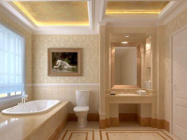 ампир в ванной