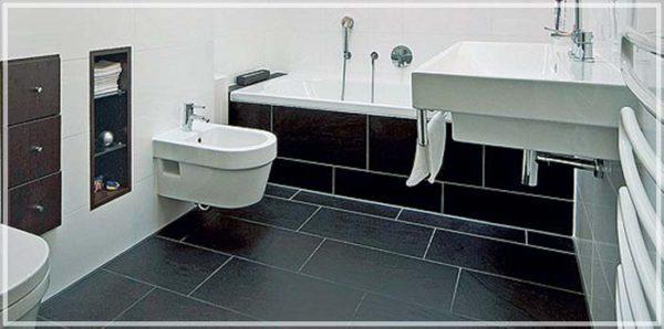 Выбор напольного покрытия для ванной комнаты