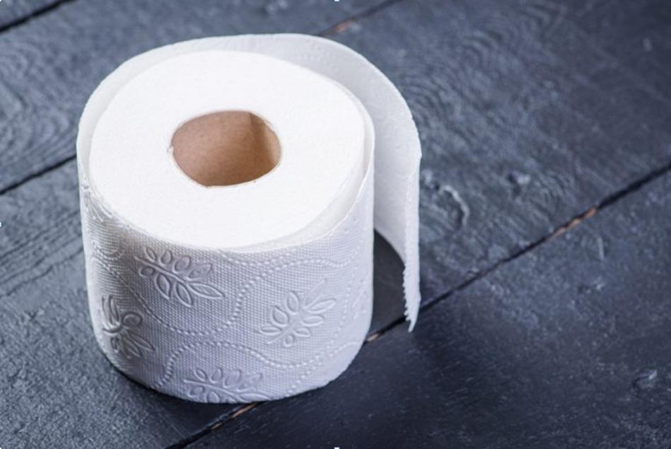 рулон профессиональной мягкой туалетной бумаги